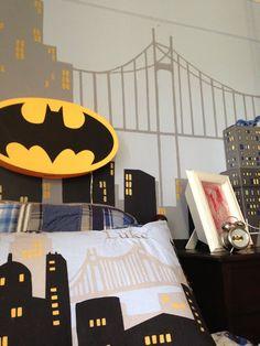 Embracing the Mundane: a superhero bedroom