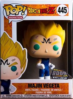 Pop Dragon Ball Z GREAT APE VEGETA NYCC Limited Edition Exclusive #434 Gift