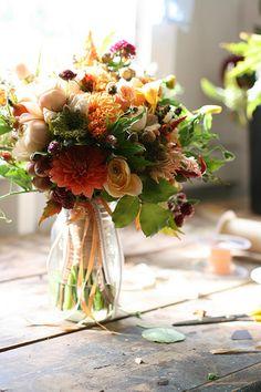 Inspiración ramos  #novia #otoño #boda #ramodenovia