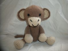 Crocheted Monkey Stuffed Animal/Toy (Made to Order)