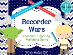 Recorder Wars ~ Recorder Fingering Matching