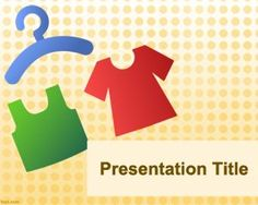 Clothing PowerPoint template is a free template for PowerPoint that can be used for clothes or clothing fashion. This template Clothing PowerPoint presentation can be used for fashion events and organizations that are focused on clothes or fashion. You can download many other free Power Point templates for presentations about clothes, T-shirt, dresses or fashion.