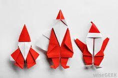 origami christmas ile ilgili görsel sonucu