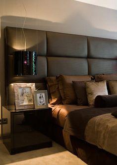 Metropolitan Luxury Bedroom by Designer Eric Kuster. Love his work, great designer!