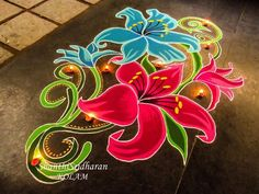 Colourfull Diwali with Colourfull Ragoli's. Simple Rangoli Designs Images, Rangoli Designs Latest, Small Rangoli Design, Beautiful Rangoli Designs, Kolam Designs, Latest Rangoli, Easy Diwali Rangoli, Rangoli Designs Diwali, Kolam Rangoli