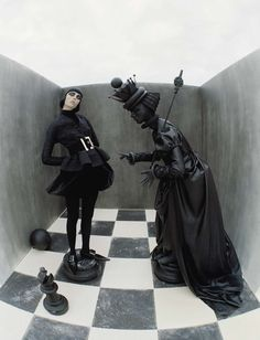 Edie Campbell by Tim Walker fore Vogue Italia December 2015 2