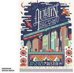 Austin City Limits par Andy Gregg  - Anderson Design Group