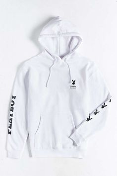 Good Worth X Playboy Bunny Hooded Sweatshirt - Urban Outfitters