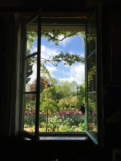 Monet's window - Giverny, France