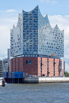 The Elbphilharmonie (also English: Elbe Philharmonic Hall) is a concert hall in the HafenCity quarter of Hamburg, Germany, on the Grasbrook (de) peninsula of the Elbe River. It is one of the largest and most acoustically advanced concert halls in the world. It is popularly nicknamed Elphi