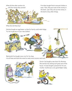 Image result for richard scarry everyone is a worker
