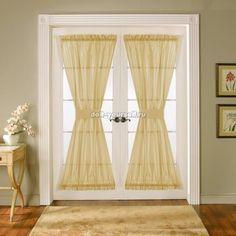 шторы на дверь