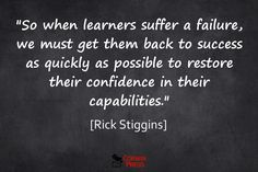 The Emotional Dynamic of Student Assessment for Learning | Rick ...
