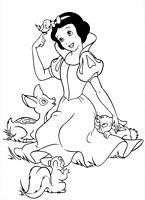 kolorowanki Królewna Śnieżka malowanka do wydruku numer  26