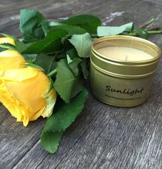 Sunlight Scented candles - perfect antidote to the winter blues