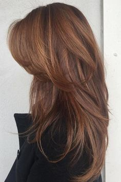 Visit for more Fresh best haircuts. Long hair Hair The post Fresh best haircuts. Long hair Hair appeared first on frisuren. Medium Hair Styles, Curly Hair Styles, Hair Styles Long Layers, Haircuts For Long Hair With Layers, Hair Cuts For Long Hair Straight, Updo Styles, Cut Layers In Hair, Long Layered Haircuts Curly, Hair Cuts For Volume