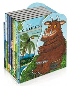 The Gruffalo and Friends Bedtime Bookcase by Julia Donaldson
