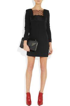 Saint Laurent Betty Medium Chain Leather Shoulder Bag 44