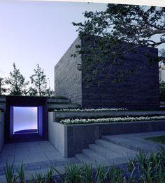 """Tending Blue"" by James Turrell Nasher Sculpture Center - Dallas, TX"