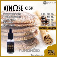 Atmose (OSK) - то самое бабушкино свежевыпеченное овсяное печенье покрытое корицей, ничего лишнего.