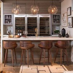 Unique Basement Bar Measurements