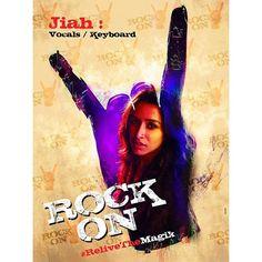 Ek Nayi Manzil, Kaie Naye Raaste ~ Jiah Sharma #ReliveTheMagik #RockOn2 🤘❤️