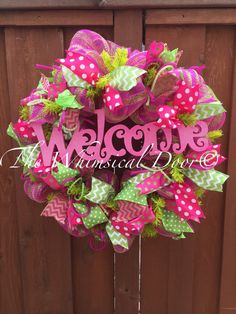 A personal favorite from my Etsy shop https://www.etsy.com/listing/230762730/spring-wreath-welcome-wreath-everyday