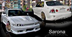 Custom Honda Accord Sedan Front Bumper (2004 - 2007) - $450.00 (Part #HD-007-FB) Custom Body Kits, Fit 4, Station Wagon, Honda Accord, Cutaway