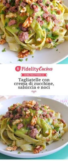 italian recipes from italy Pasta Recipes, Cooking Recipes, Healthy Recipes, I Love Food, Good Food, Italy Food, Just Cooking, Tortellini, Pasta Dishes