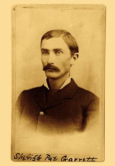 Experts speculate this photograph of Pat Garrett was taken while he was in Santa Fe trying to collect the reward on the Kid.
