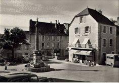 Voici le village de Pierrefort en cartes postales anciennes
