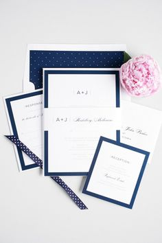 navy and white moder
