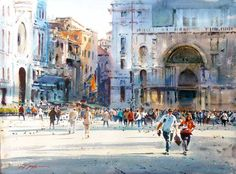 David Taylor #watercolor jd
