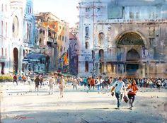 David Taylor #watercolor jd