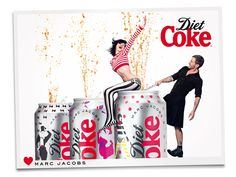 Diet Coke by Marc Jacobs (feat. Ginta Lapina). Image by Stephane Sednaoui.