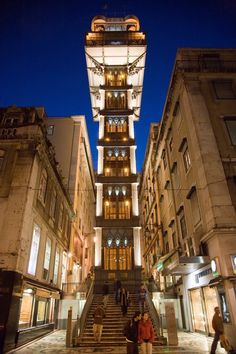Portugal's Spectacular Santa Justa Lift Takes Elevators Up A Level | via The Huffington Post | 21/2015 Because Portugal is awesome, its capital city built funiculars and lifts to take residents up and down. The system was hardy enough to have lasted more than 130 years, and one of these contraptions -- highlighted by Amusing Planet earlier this week -- might just be the most ornate, beautiful elevator we've ever seen. #Portugal