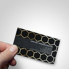 One of our #Gold #Metallic #Finish #BusinessCard... Get 1000 of these #BusinessCards for only $99