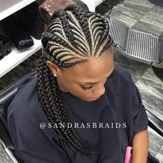 Thick And Thin Ghana Braids