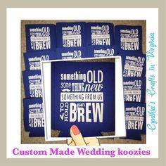 Did a custom batch of koozies someone's gonna get married #Custom #CustomizeYours #CustomizeMe #CustomKoozies #Koozie #Koozies #SodaKoozie #BeerKoozie #CanKoozie #LetsGetMarried #Bride #Summer #SummerLove #SummerTime #GetOutside #cynthiascraftsinvirginia #VirginiaSmallBusiness #SupportSmallBusiness #SupportHandmade #ShopSmall #MakersGonnaMake #BossLady #weddingfavors #destinationwedding