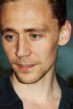 Tom Hiddleston manages miraculously to look manly and fragile at the same time
