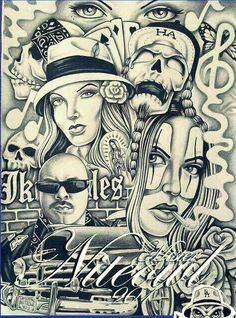 Teen angels magazine 229 the best of tattoo art lowrider for Aztec mural tattoos