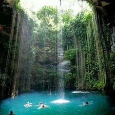 Santo Domingo, Dominican Republic - Park of Three Eyes of Water..... honeymoon!!!