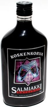 Se kunnon on. In other words, a Finnish delicacy....black licorice liquor