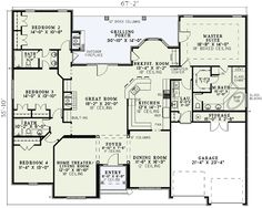 Plan W59811ND: Photo Gallery, European, Traditional, Luxury, Southern, Premium Collection House Plans & Home Designs