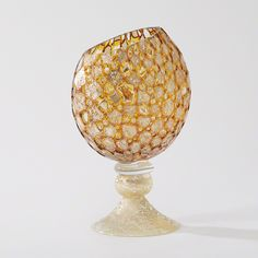 Pill Vase - Golden Bubble: The Southern Home featuring French Country & Shabby Chic Home Decor
