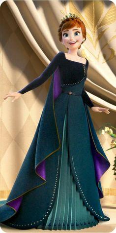 The Queen's admirer — Elsa Anna Disney Princess Cartoons, Disney Princess Pictures, Disney Princess Drawings, Disney Pictures, Disney Cartoons, Anime Princess, Anna Und Elsa, Frozen Elsa And Anna, Disney Frozen Elsa