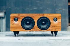 Min7 Portable Handmade Wooden Speaker On Kickstarter | Digital Trends