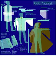 You searched for jedi Costume Jedi, Costume Star Wars, Jedi Cosplay, Cosplay Diy, Star Wars Wedding, Star Wars Party, Jedi Robe Pattern, Costume Patterns, Sewing Patterns