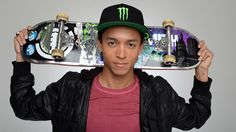 Nyjah Huston 18 and one of my favorite skateboarders