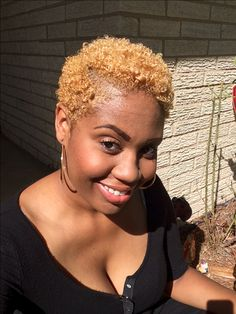 Blonde Twa, Natural Blondes, Jessie, Natural Hair Styles